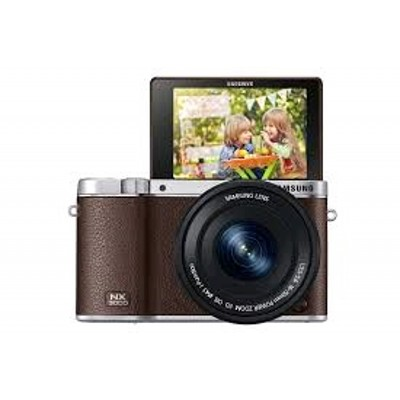 Samsung NX3000 KIT Silver/Brown